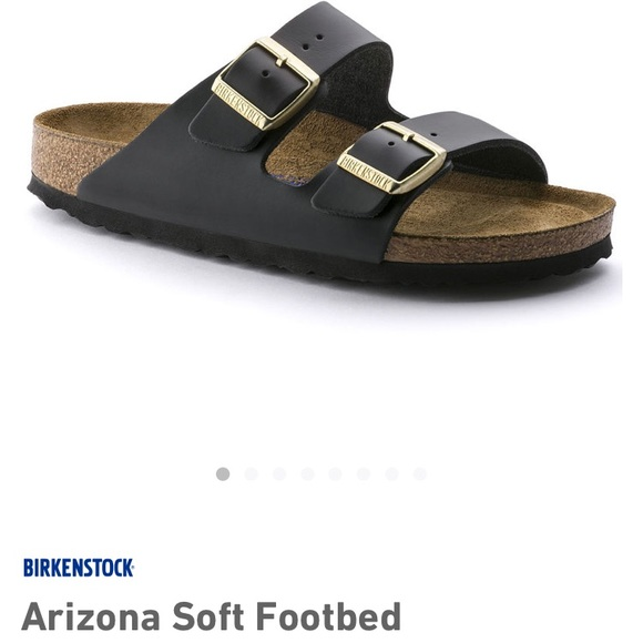 aabd7697d35 Birkenstock Shoes | Arizona Soft Footbed Hunter Black 42 | Poshmark